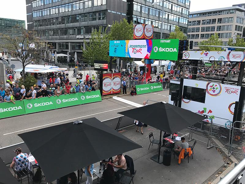 BOFA meistert als Offizieller Lieferant die Deutschlandtour