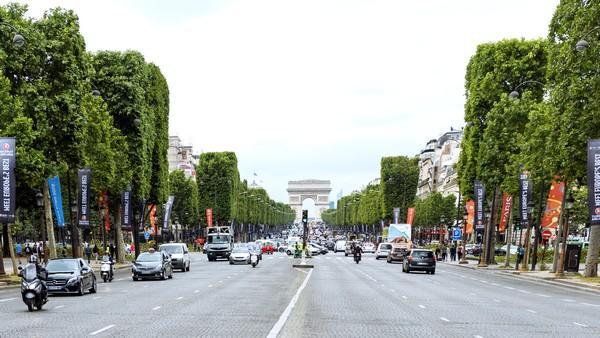 Champs Elysées - Euro 2016