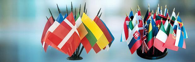 drapeaux de table