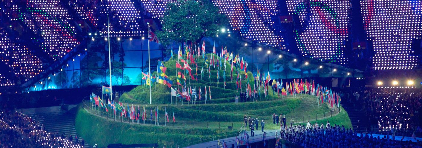 Flags for London 2012