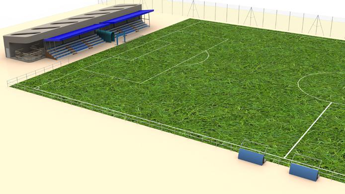 ©Plan 3D Equipements de stade