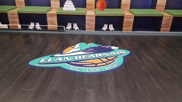 Doublet aménage l'espace VIP du club de basket de Pau