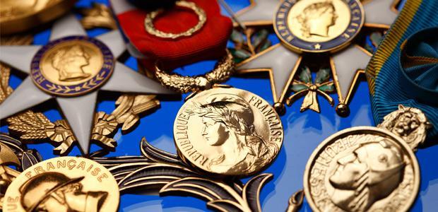 Médailles officielles