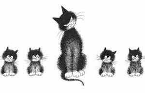 Une exposition sur les chats du dessinateur Dubout