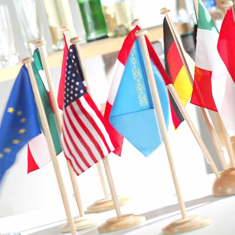 Tischflaggen der Nationen