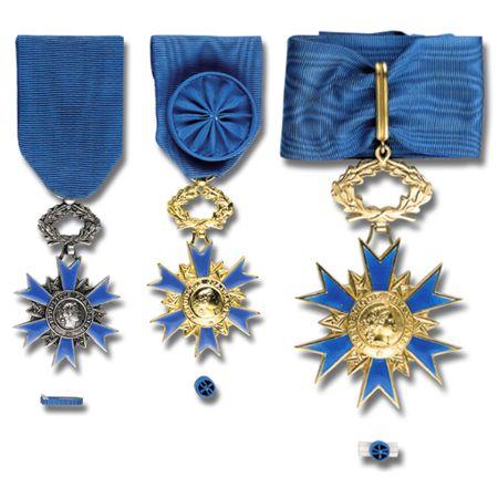 Médailles de l'Ordre National du Mérite