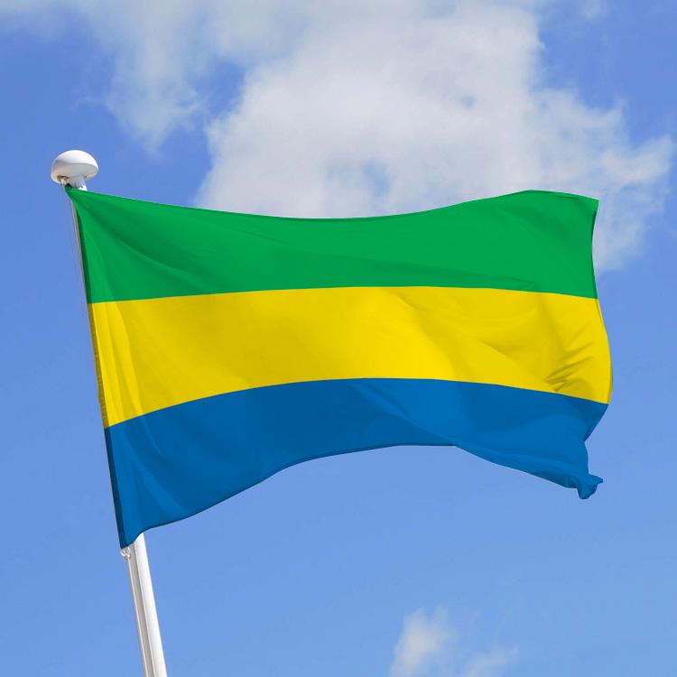 Drapeau Gabon
