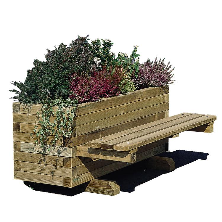 Jardiniere en bois - Jardiniere en bois sur pied ...