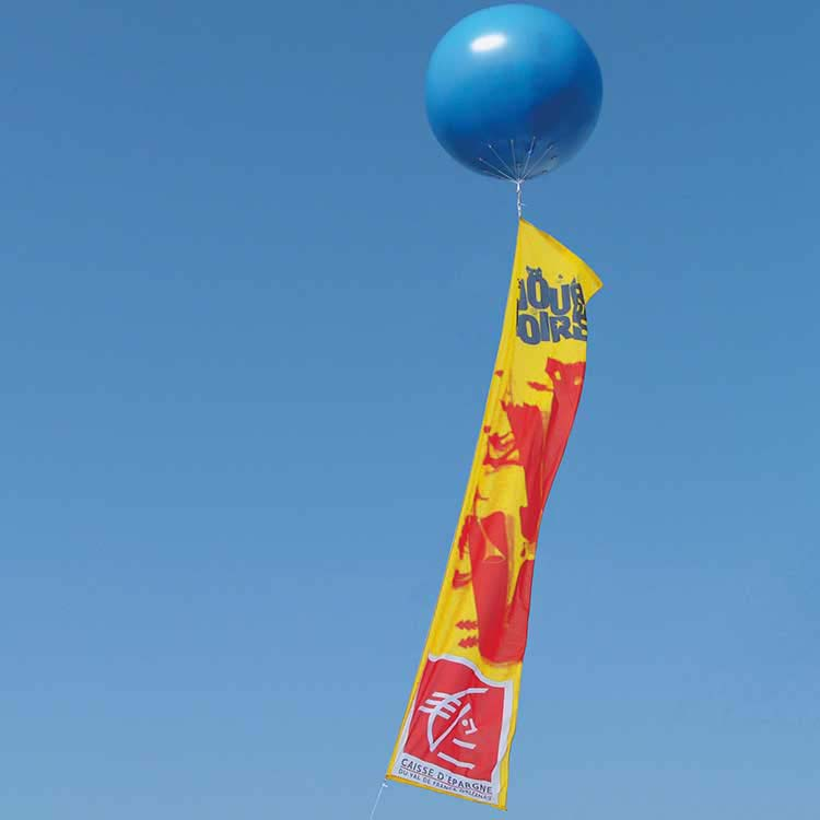 Ballon géant Hélium