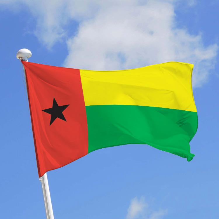Drapeau Guinée-Bissao