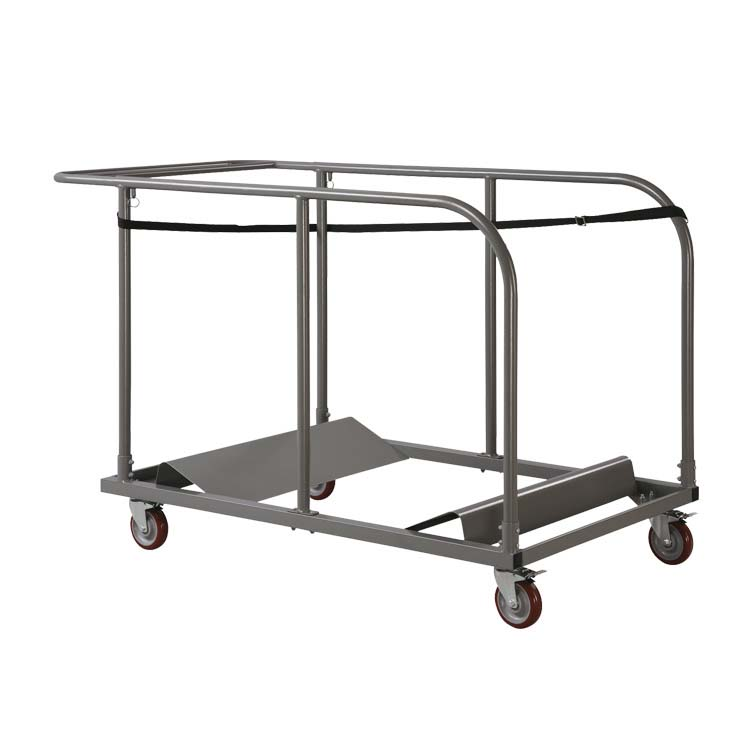 Chariot pour tables rondes