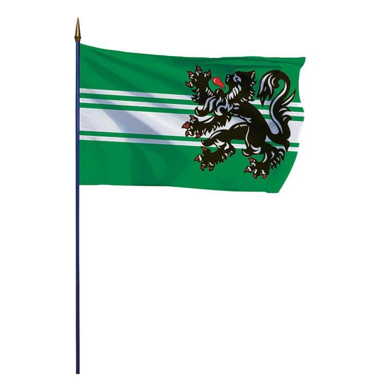 Drapeau Flandre Orientale  (BE)