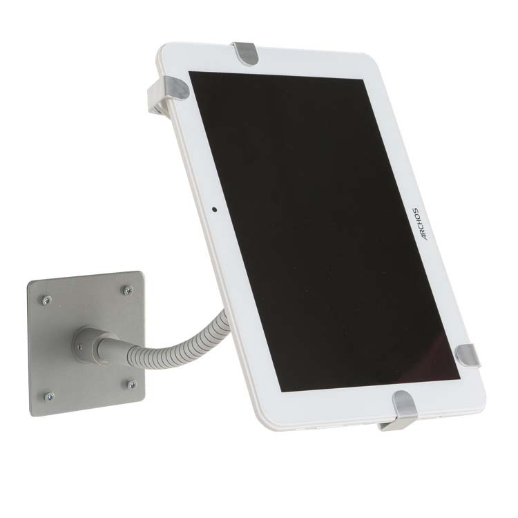 Support mural pour tablette num rique tactile visser sur - Support mural avec tablette ...