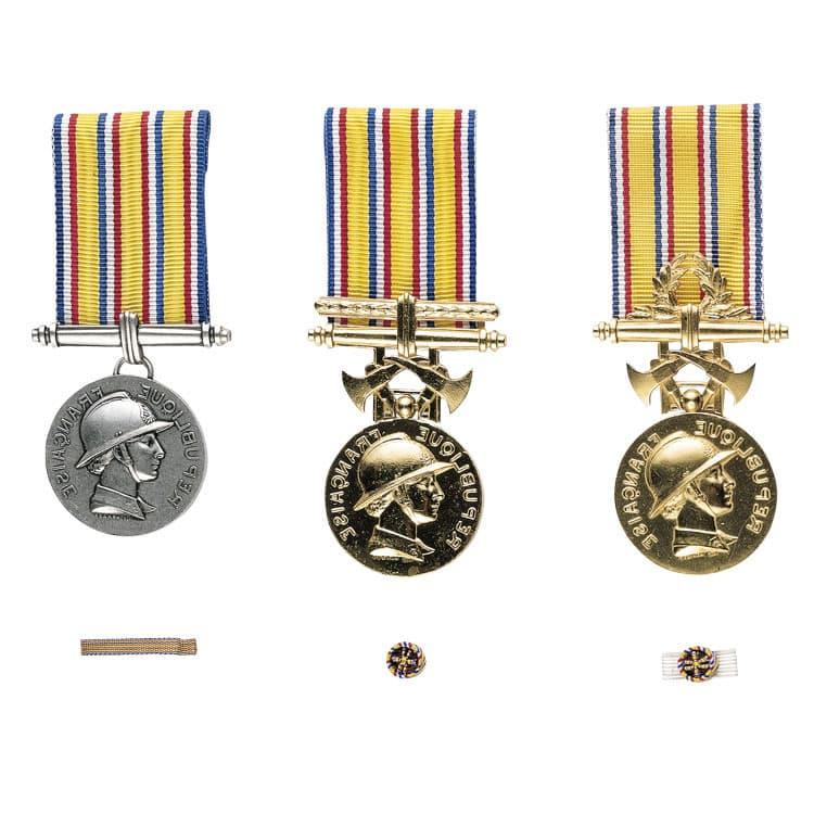 Médailles d'honneur des sapeurs pompiers