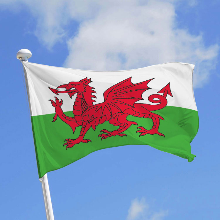 Fabricant drapeaux du royaume uni angleterre ecosse pays de galles doublet - Logo pays de galles ...