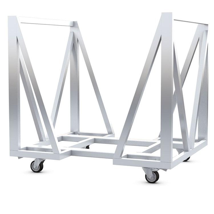 Chariot pour Crash barrières