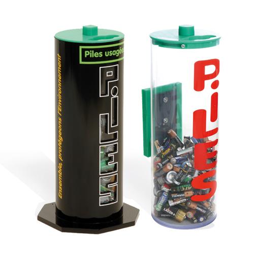 Collecteur de piles Premium Standard