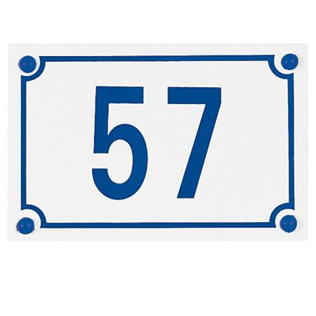 Numéro de rue Métalu