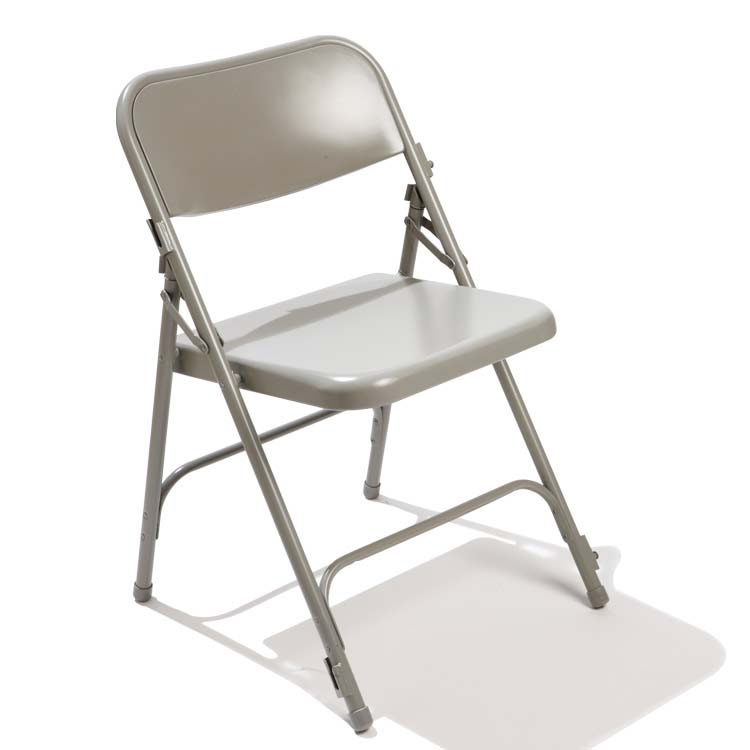 Chaise pliante metal industrial metal folding chair used for Chaise pliante