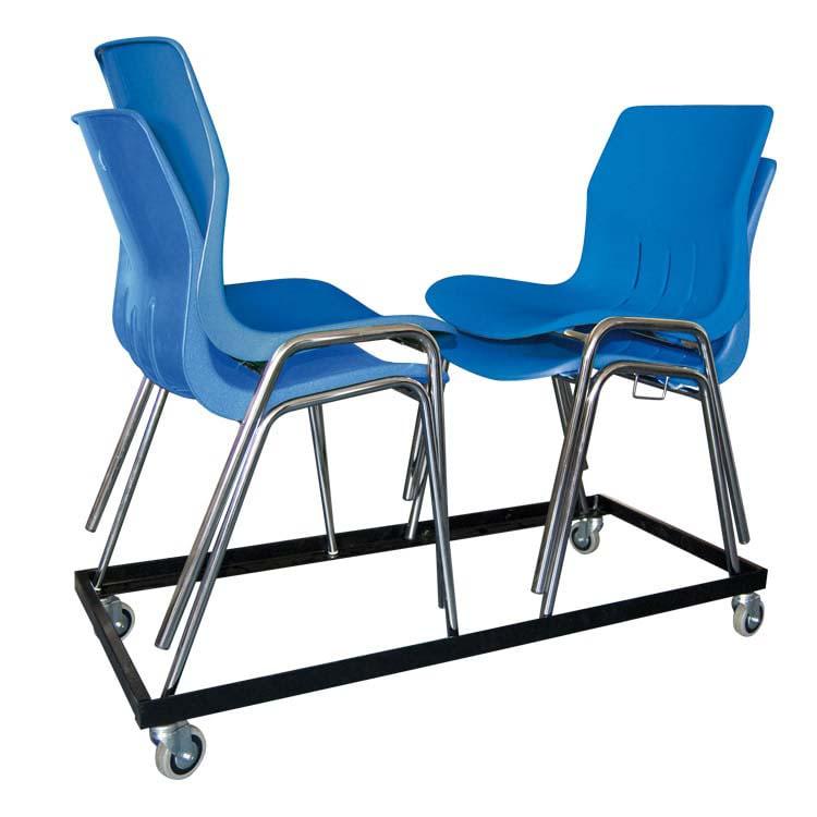 Chariot pour chaises empilables Coque/Coquergo