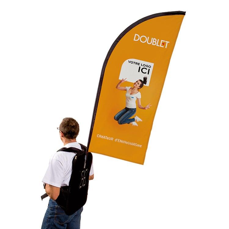 Street marketing bag