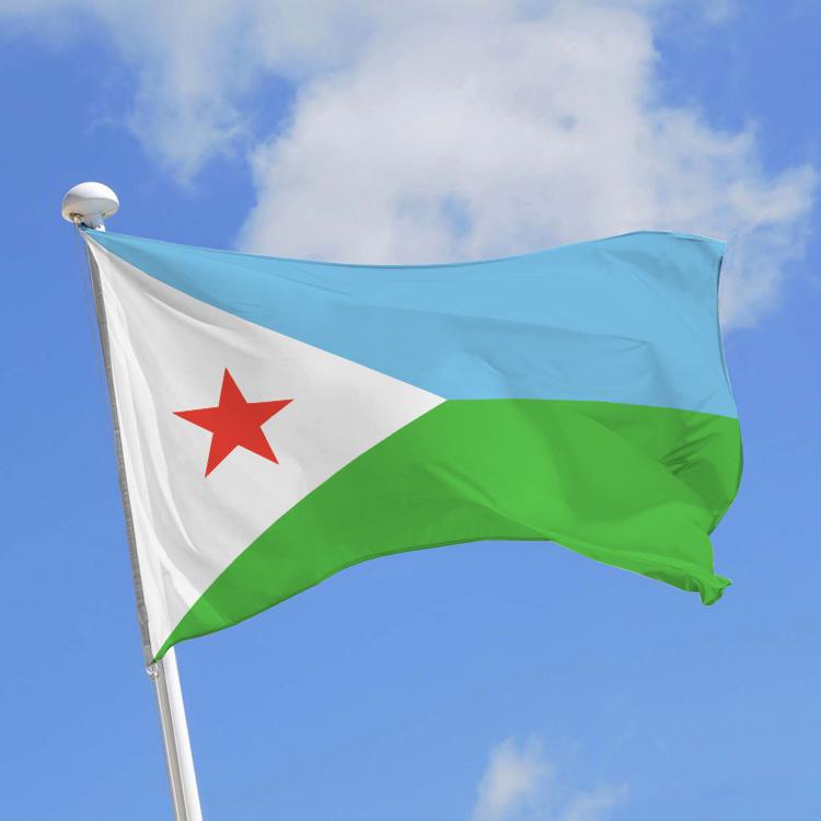 Drapeau Djibouti