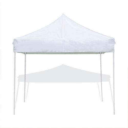 Tente pliante Pop Up - Bâche PVC unie blanche