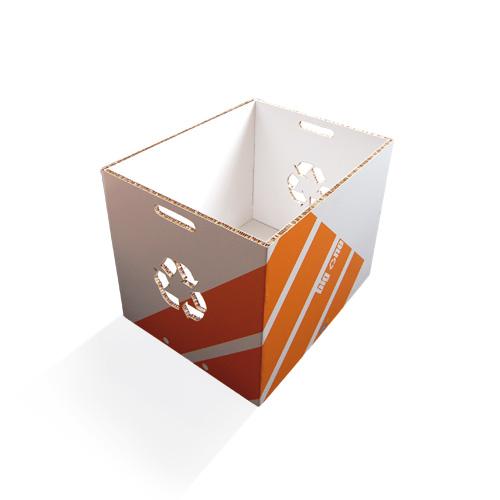 Corbeille de tri sélectif  Ecodesign recyclable