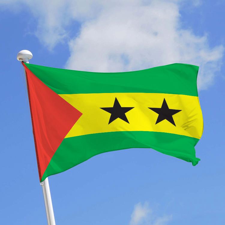 Drapeau Sao Tomé-et-Principe