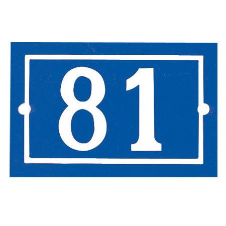 Numéro de rue Tradition
