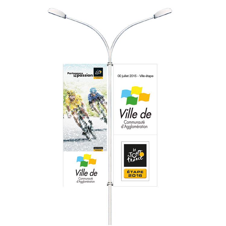 Kakémonos de rue Tour de France