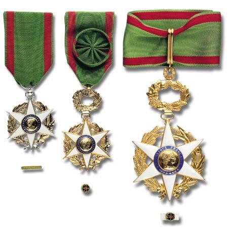 Médailles de l'Ordre du Mérite Agricole