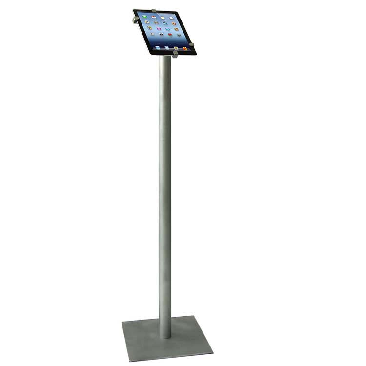 support pour tablette num rique sur pied compatible ipad galaxy tab doublet. Black Bedroom Furniture Sets. Home Design Ideas