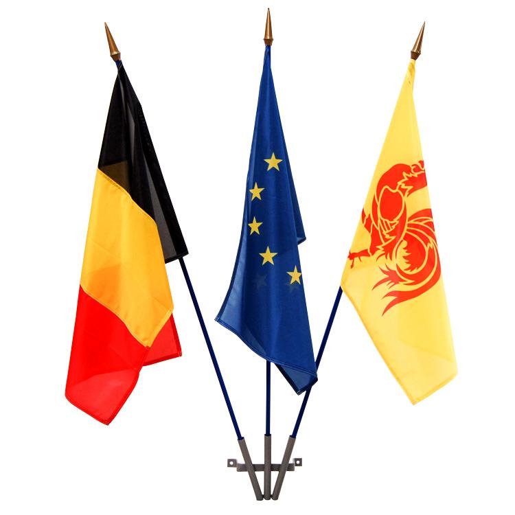 Kit façade drapeaux Belgique