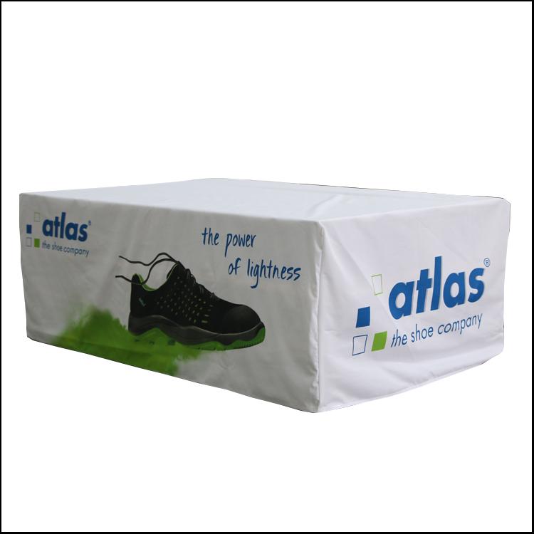 Palettenverkleidung Atlas Schuhe