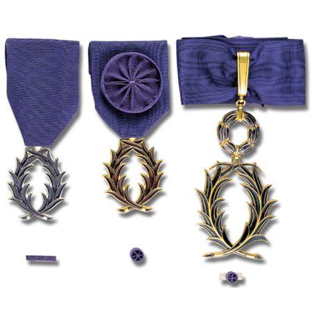Médailles de l'Ordre des Palmes Académiques
