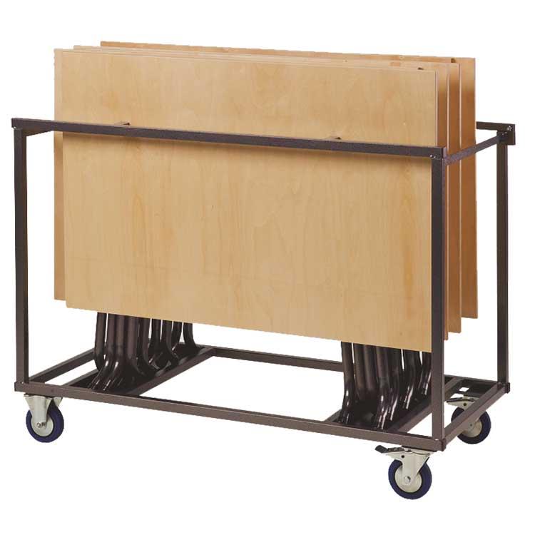 Chariot pour tables Delta