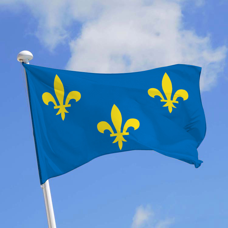 Drapeau province Île-de-France