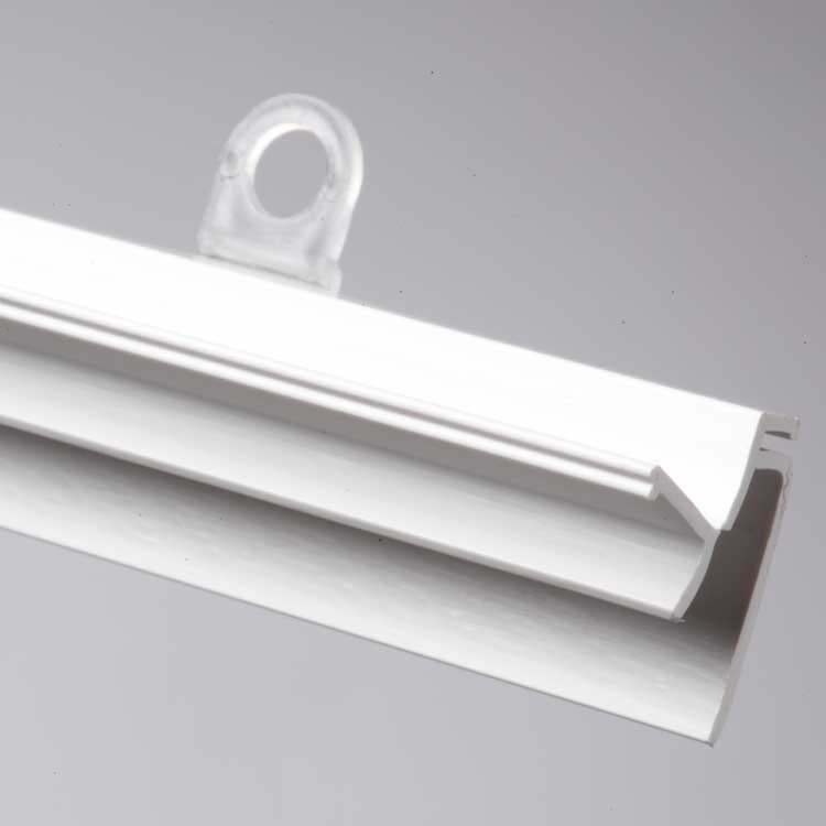 doublet baguette profil plastique pour suspendre. Black Bedroom Furniture Sets. Home Design Ideas
