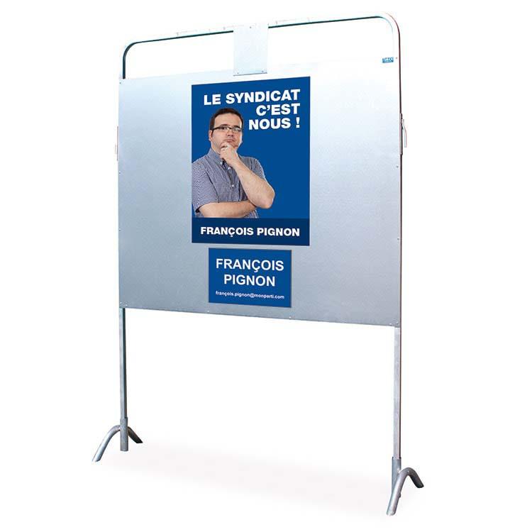 Panneau d'affichage électoral type 2092