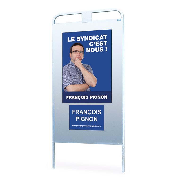 Panneau d'affichage électoral type 2098