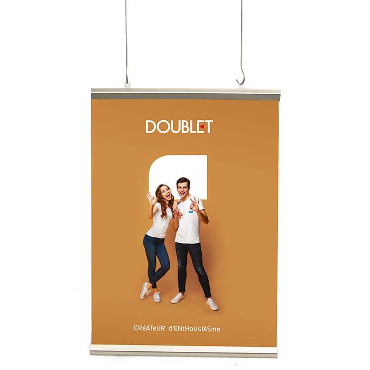 Profilé plastique pour affiche