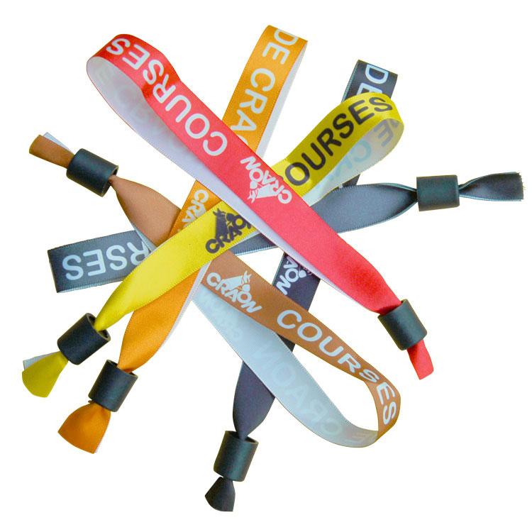 Bracelet d'identification en tissu