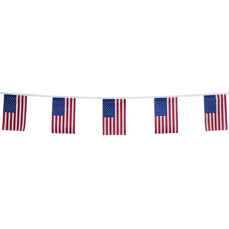 Guirlande tissu États-Unis
