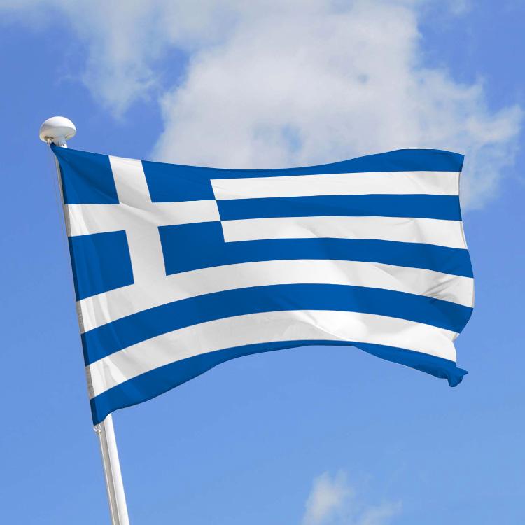 grece drapeau