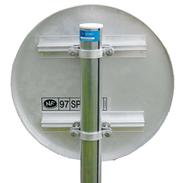 Doublet vente tube de fixation pour panneau de signalisation et de rue - Comment installer panneau japonais ...