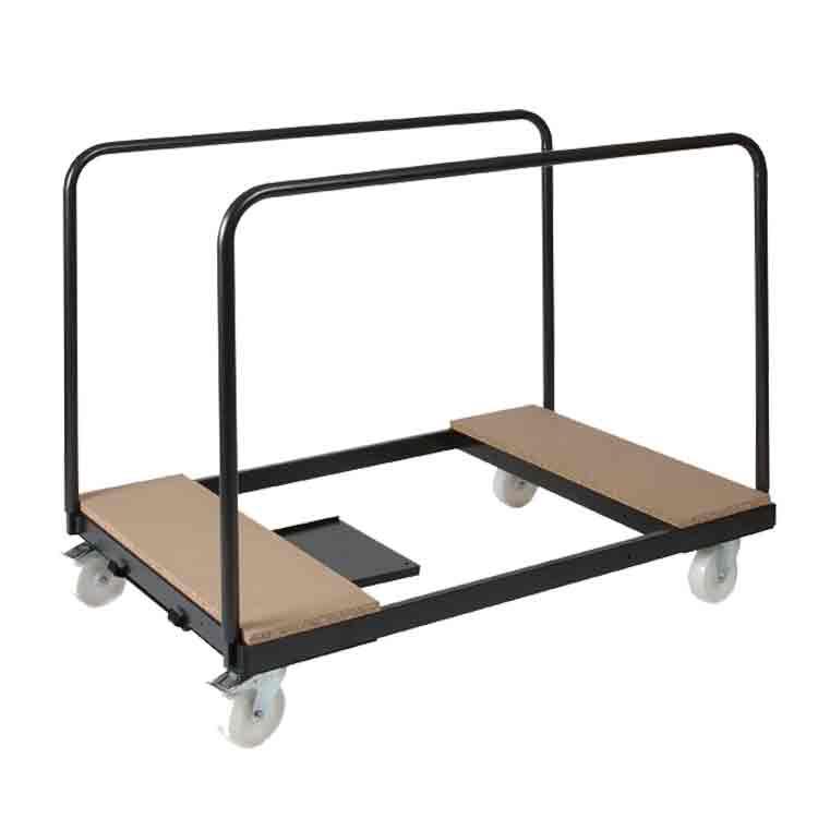 Chariot universel pour tables rondes 120 à 150 cm