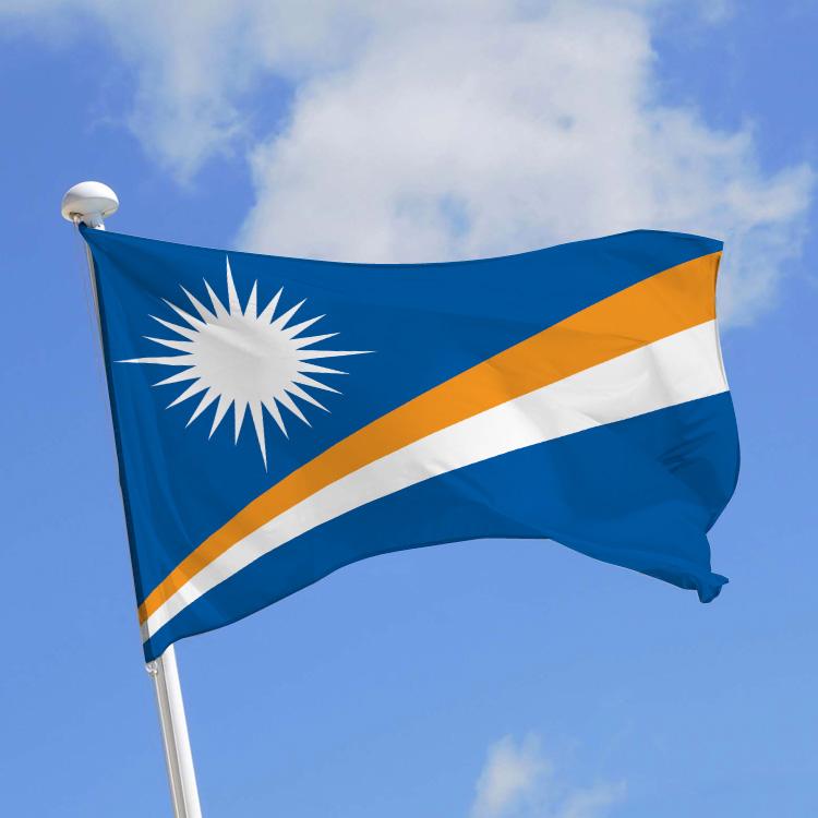 drapeau des iles marshall