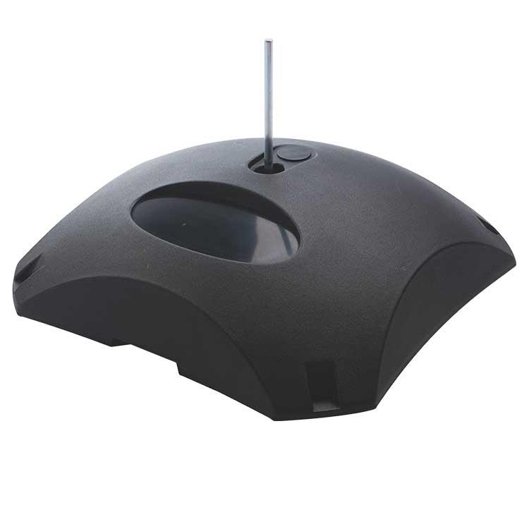 Beschwerbarer standfu f r masten in vielen farben 30 kg bofa for Innendekoration digital