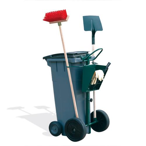 Chariot poubelle simple bac